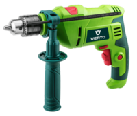 VERTO  50G515  Impact drill, 500 W, key chuck 13 mm